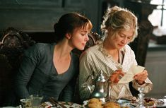 Keira Knightley and Rosamunde Pike