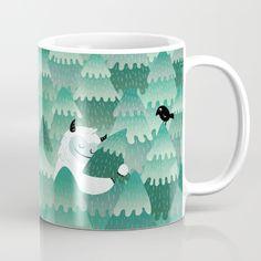 Tree Hugger (Spring & Summer version) Mug by Littleclyde   Society6