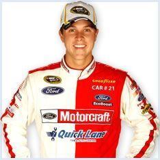 hes cute, christian, and a nascar driver...so basically I'm in love
