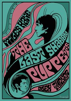 "1960s themed ""the Last Shadow Puppets"" poster"