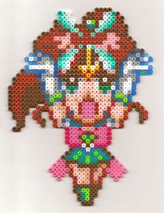 Sailor Jupiter perler beads by yesulga on deviantart