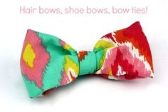 iLoveToCreate Blog: How-to Make Fabric Bows