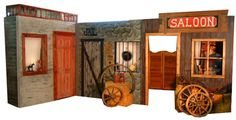 Old Western Photo Props | Fences, saddles & blankets, hay bales, lanterns and everything Western ...