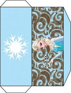Free Printable Envelope Invitations ♥ Frozen