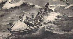 Les canots de Bréhat et de Perros sont du type 9,78m à redressement spontané sur plans anglais