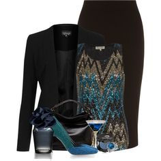 Untitled #1389, created by lulurose98 on Polyvore. The shoes are EVERYTHING!