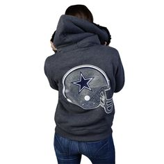 Dallas Cowboys PINK Fur Lined Full Zip Hoody. I need this.