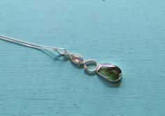 Serpens Infinitas Kundalini Serpent Sterling Silver Moldavite Labradorite Crystal Necklace by youareinfinite on Etsy