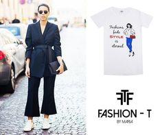 Combina Fashion-T by María con los pantalones tendencia primavera-verano 2016 – FASHION-T BY MARIA  Camisetas #cool #FashionTByMaria para combinar tus #outfits #casualchic www.stylesempiter... #tshirts #fashion #madeinspain #trendy #fashionista #trends