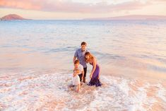 How we do family portraits on Maui | Love + Water Photography
