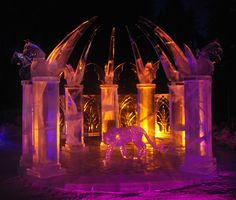 Palace Pet Ice Carving