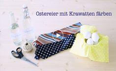 Video: Ostereier mit Krawatten färben