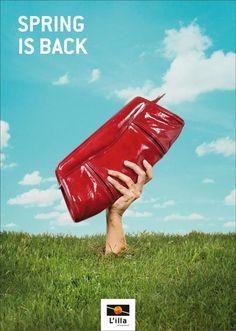BAG, L'illa Shopping Center, DDB Espana, L'illa Diagonal, Print, Outdoor, Ads