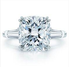 Harry Winston Classic Cushion Cut Engagement Ring