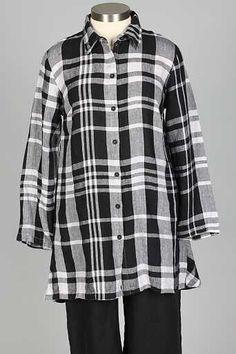 e3850de5a79 Soiree Shirt - Onyx Plaid Plaid Pattern