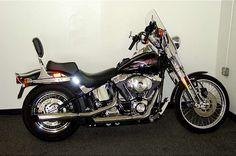 Harley-Davidson® FLSTS/I Details Color: Blue/Silver Condition: Used