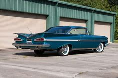 1959 Chevrolet Impala Maintenance/restoration of old/vintage vehicles: the material for new cogs/casters/gears/pads could be cast polyamide which I (Cast polyamide) can produce. My contact: tatjana.alic@windowslive.com