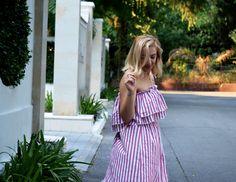 The Nine by Ivana New blog post!  https://theninebyivana.blogspot.com/2017/08/pink-stripes.html   #stripes #shein #ivanajeknic #fashionblogger #style #summerlook