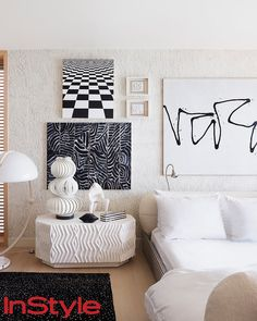 We've rounded up a few of our favorite bedrooms of actors, musicians, and fashionistas. Sure, they are located in some of the most covetable zip codes (with price tags to match), but it's the stellar design elements that make them A-list.