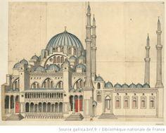 Süleymaniye Camii, Byzance. Completed in 1558.