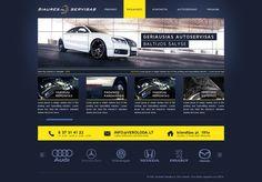 Auto services design by ~Dgrafika