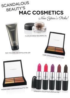 Exciting!!! MAC's new products debuting now through early '13--Concealer palettes, matte lipsticks and more!