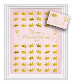 Baby Shower Guest 16x20 Sign-In Tree Poster by KreationsbyMarilyn