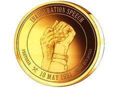 Nelson Mandela Presidential Gold Medallion Set Gold Medallion, Nelson Mandela, Coin Collecting, Gold Coins, Gold Locket