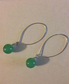 Sterling Silver Earrings, aventurine earrings, drop earrings, dangle earrings, silverbymaggie, boho jewelry, chakra jewelry, fashion jewelry by SilverByMaggie on Etsy