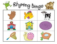 "We made a Rhyming Bingo game using owls as a background for each board. It was called : ""Whooooo Can Rhyme?"" We used the game for years and it was so much fun to play with a small group. The boards finally wore out! This picture isn't our game."