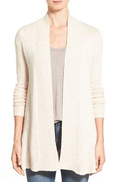 Split open cardigan to have in the closet this fall /winter to mix with your dark colors.
