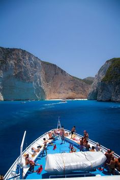 Reaching to the famous Navagio beach in Zakynthos