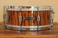 Mayer Bros. Drums 8-Ply Maple Snare Drum.