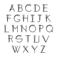 Risultati immagini per hand lettering font alphabet Bullet Journal Font, Journal Fonts, Journaling, Hand Lettering Alphabet, Calligraphy Letters, Typography Alphabet, Typography Poster, Handwriting Fonts Alphabet, Typography Design
