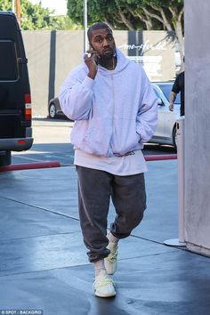 Kanye West spotted out alone on Black Friday