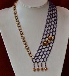 ideia no tut - Purple necklace - Item Number 19002