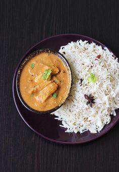 Baby corn masala recipe - Baby corn gravy curry with step by step photos. Baby corn recipe in restaurant style, pair it with phulka, roti, pulao or biryani