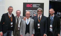 Da sinistra: Filippo Colombo, Dario Adami, Giorgio Gandolfi, Franco Del Moro e Michele Talamazzi