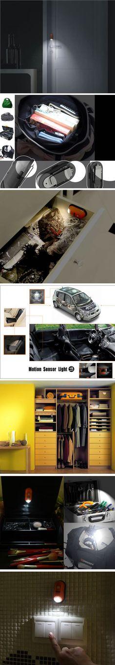 Motion Sensor LED Night Light