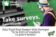 Use credit from easy surveys to fund your summer holiday expenses. Check out my top tips for how to use Valued Opinions alongside some great retail deals.