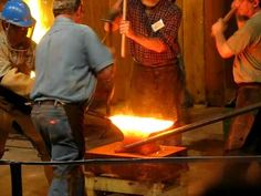 Wow! - SOFA 2009: Welding Face Plate to Anvil - YouTube