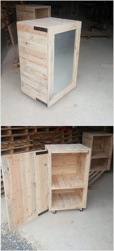 Next comes the pallet box or you can even name it as the pallet storage box. It is much simple and easy in terms of designing which you can even try with your own-self help. It would be a suitable option for your store room or even for keeping your garage equipment's in one stand.