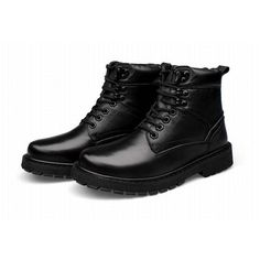 68.40$  Buy here - http://aliz8s.worldwells.pw/go.php?t=32725081367 - big size 46 47 48 49 50 Man Shoes Black Genuine Leather Ankle Boot Fashion England Martin Boots Men Autumn And Winter Snow Boots