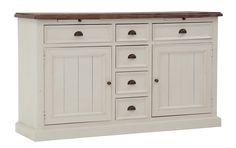 VERMONT-senkki, antiikinvalkoinen Vermont, Buffet, Dresser, Cabinet, Storage, Furniture, Home Decor, Clothes Stand, Purse Storage