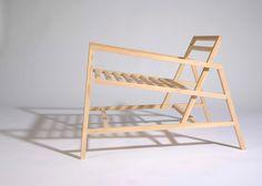 Stick Chair by Astrid Tolnov