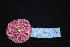 lace baby headband etsy