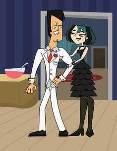 Total Drama Island Gwen | Total Drama Island Formal Gwen and Trent
