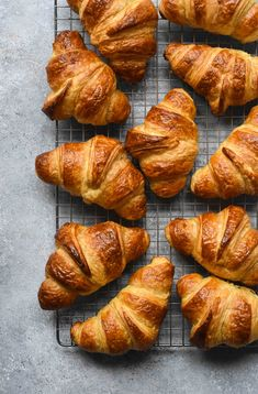 Classic French Croissants 101 Guide - Pardon Your French Food Recipes Healthy, Food Recipes Keto French Croissant, Comida Keto, French Food, French Bakery, Freshly Baked, Bread Recipes, Food Photography, Photography Backdrops, Cooking
