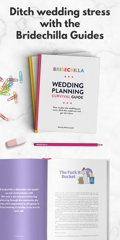 Bridechilla Wedding Planning Survival Guide helps you plan the wedding you want, ditch the wedstress and get stuff done. Real wedding planning advice for real people on real budgets. Budget Wedding, Plan Your Wedding, Wedding Planning, Wedding Punch, Wedding Stress, Minimalist Wedding Dresses, Wedding Beauty, Wedding Colors, Wedding Decor