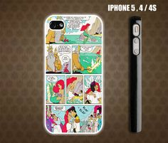 Walt Disney Movie Comic The Little Mermaid iPhone 4 case iPhone 5 case Samsung Galaxy S2 case Samsung S3 case. $17.99, via Etsy.